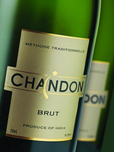 Chandon Brut, made by Moet Henessey India