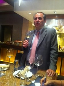 Christian Ciamos of Maison Albert Bichot introduces the Chablis
