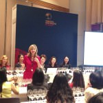 Debra Meiburg MW, conducts the Riesling tasting at Vinexpo Asia 2014