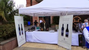 The Charosa stall