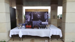 The Sula Wines stall