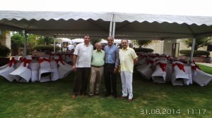 Members of the Bangalore Wine Club committee