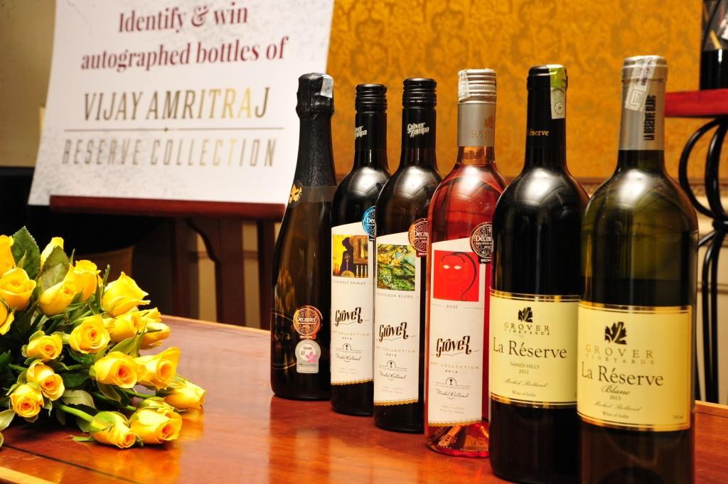 Grover Zampa wines – a large portfolio
