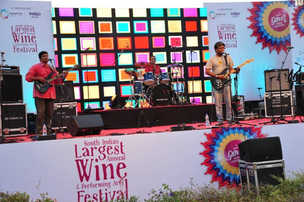Music at the Grover Wine Festival 2015