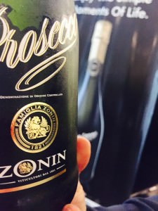 The popular Zonin Prosecco