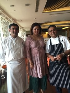 With Chef Anupam Banerjee, The Ritz Carlton, and Chef Vivek Singh