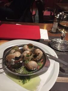 Escargot a la Bourguinonne with Chablis