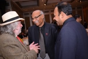 Jim Murray with Chairman Neelkanta Jagdale and Ashok Chokalingam