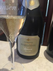 My 'afternoon tea' a special Noble Cuvee Brut Vintage 2000