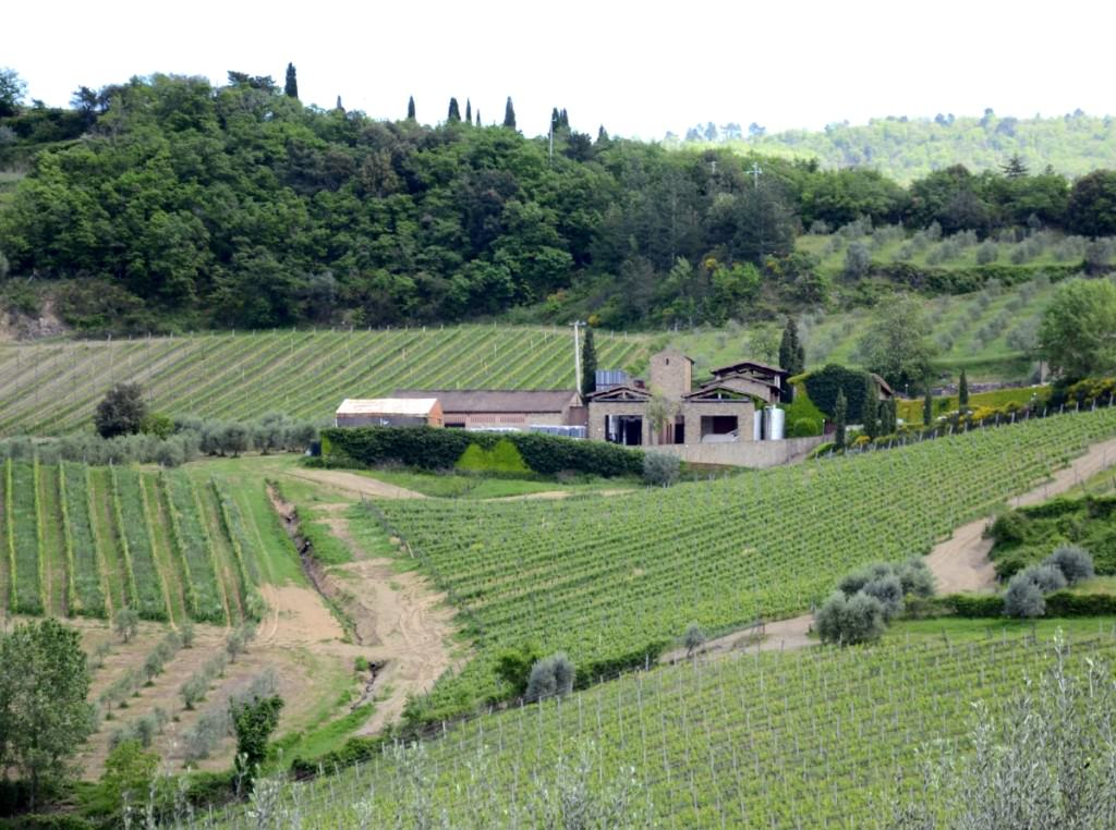 The Querciabella winery in Greve in Chianti