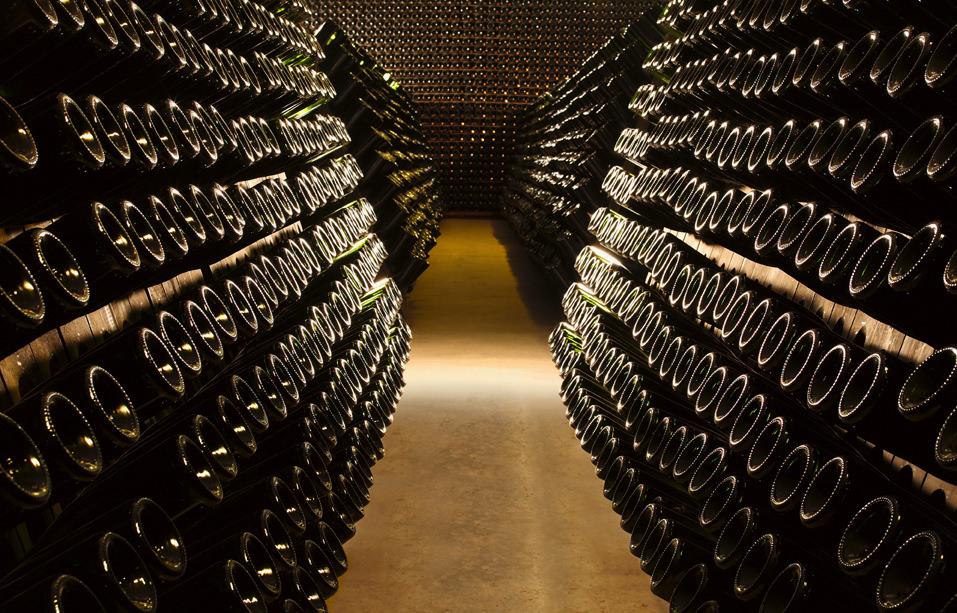 The Ferrari cellar