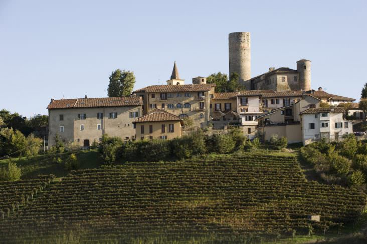 The Vietti winery at Castiglione Falletto, Barolo