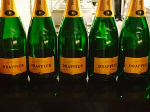 A Champagne Drappier reception is one of the IVFEx highlights
