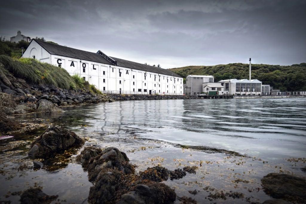 The Caol Ila distillery in Islay