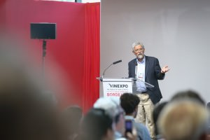 professor John P Holdren at Vinexpo 2017