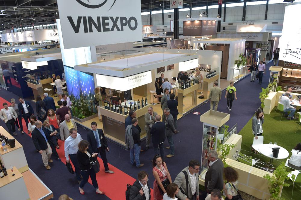 Allées-Salon Vinexpo 2015 à Bordeaux