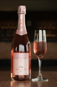 The York vintage sparkling rosé