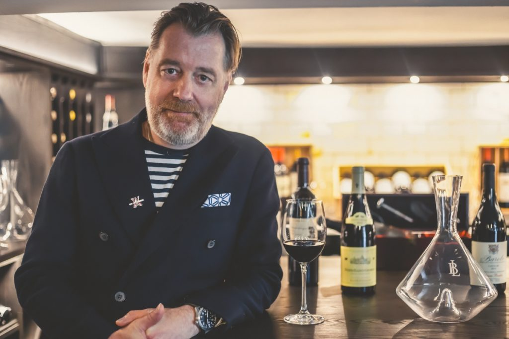 Phil Crozier, brand ambassador of Wines of Argentina for the UK and Europe